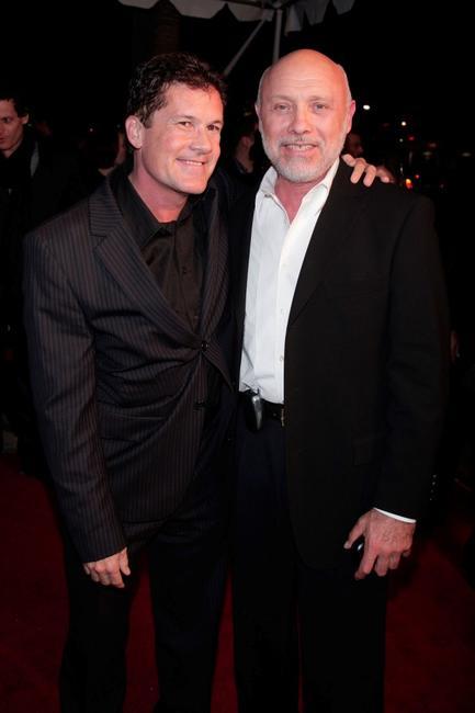 Hector Elizondo and Scott Steindorff at the closing night gala screening of