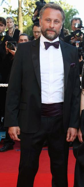 Michael Nyqvist at the premiere of