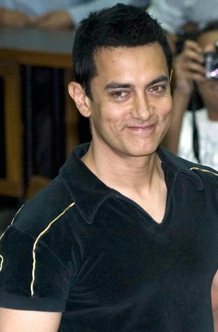Aamir Khan at the Indian Institute of Management (IIM) in Ahmadabad.