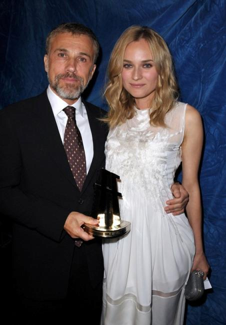 Christoph Waltz and Diane Kruger at the 13th Annual Hollywood Awards Gala ceremony.