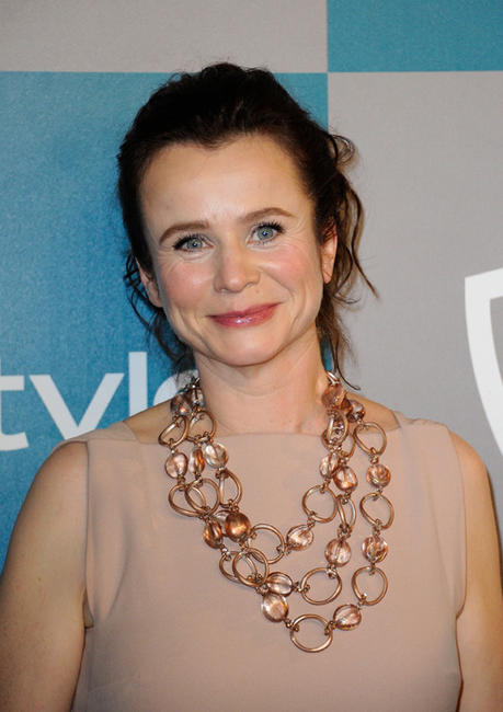 Emily Watson at the after party of the 13th Annual Warner Bros. and InStyle Golden Globe Awards in California.