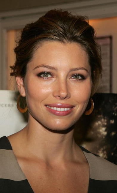 Jessica Biel at a sneak preview of