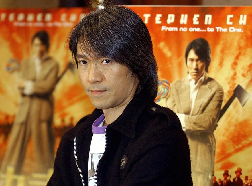 Stephen Chow at the news conference of