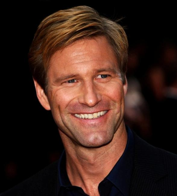 Aaron Eckhart at the UK premiere of