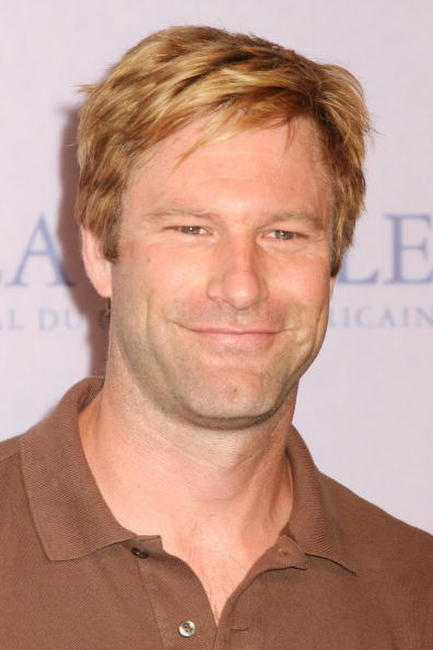 Aaron Eckhart at a France photocall for