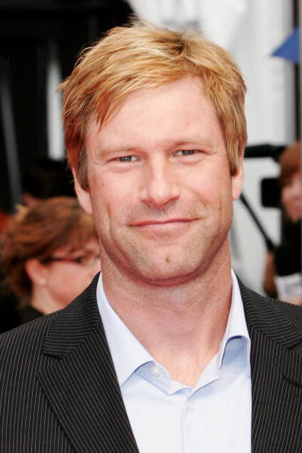 Aaron Eckhart at the France premiere of