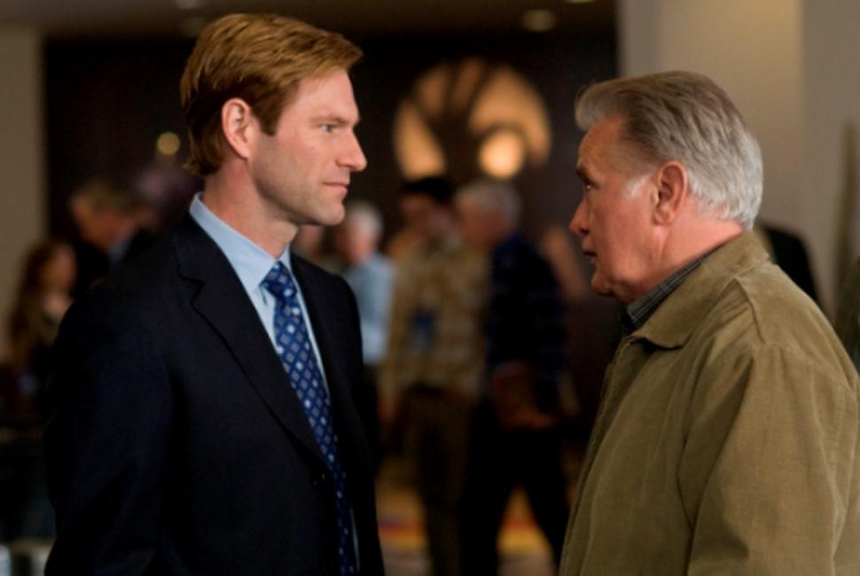 Aaron Eckhart and Martin Sheen in
