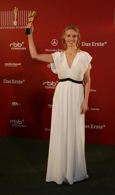Nina Hoss at the German Film Awards.