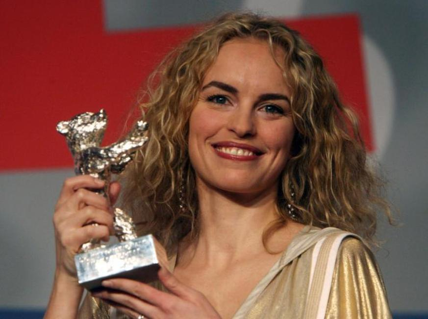 Nina Hoss at the 57th Berlinale International Film Festival.