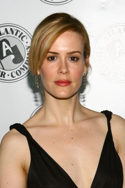 Sarah Paulson at the Atlantic Theater Company's Spring Gala.