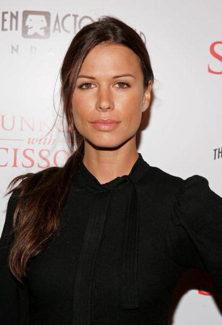 Rhona Mitra at the Beverly Hills premiere of