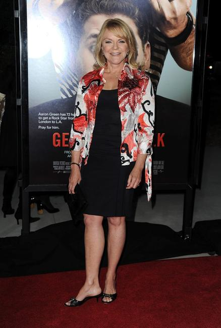 Stephanie Faracy at the premiere of