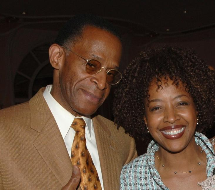 Antonio Fargas and Gina Williams at the 38th NAACP Image Awards nominees luncheon.