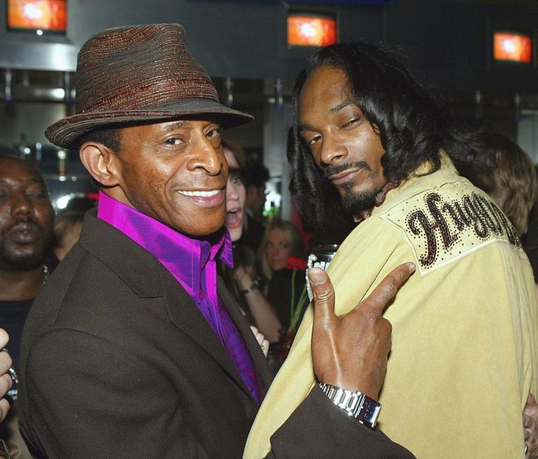 Antonio Fargas and Snoop Dogg at the after party of the premiere of