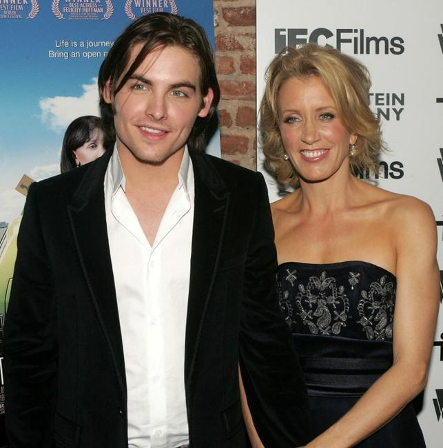 Kevin Zegers and Felicity Huffman at the screening of