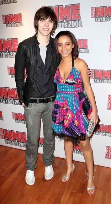 Nicholas Hoult and Larissa Wilson at the Shockwaves NME Awards 2008.