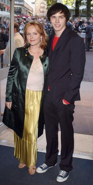 Miranda Richardson and Nicholas Hoult at the UK premiere of