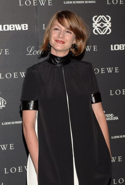 Najwa Nimri at the 160th Anniversary Loewe dinner.