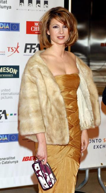 Najwa Nimri at the European Film Awards 2004.