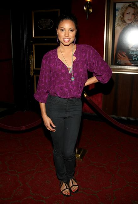 Jurnee Smollett at the world premiere of