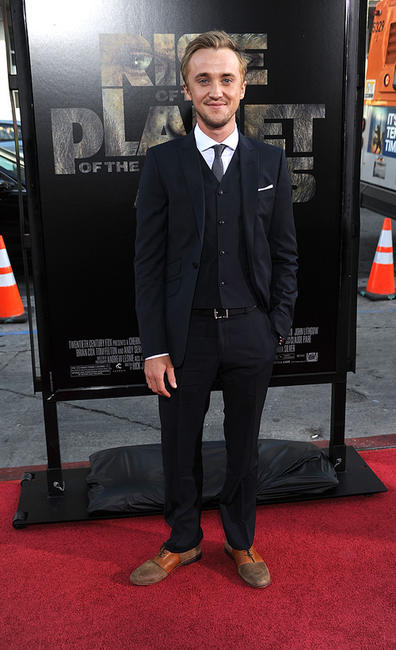 Tom Felton at the California premiere of