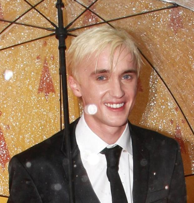 Tom Felton at the world premiere of