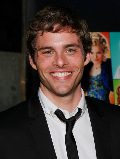 "James Marsden at the ""Hairspray"" premiere after party in New York City."