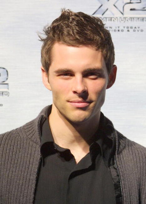 James Marsden at the DVD release of