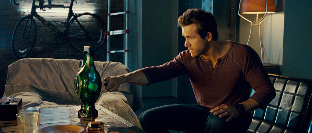 Ryan Reynolds as Hal Jordan in