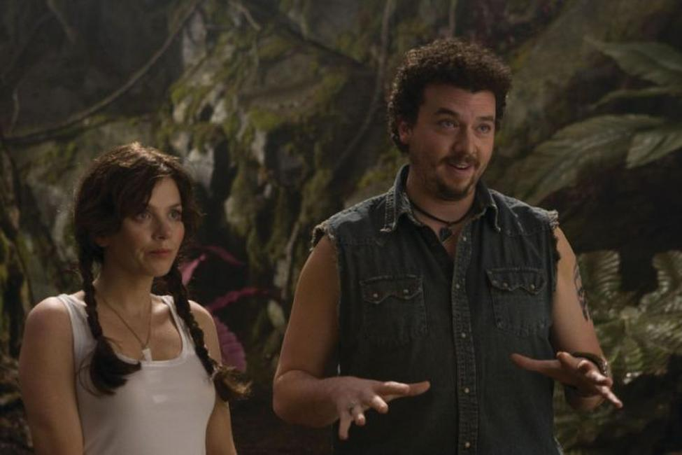 Anna Friel as Holly and Danny Mcbride as Will in