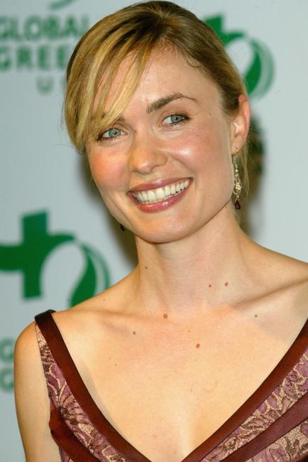 Radha Mitchell at the Global Green Millennium Awards.