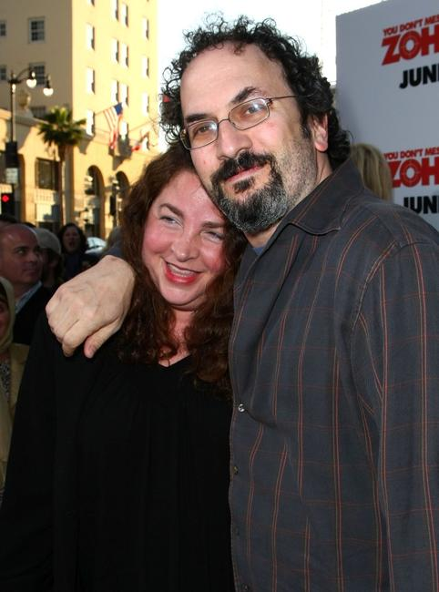 Michelle Smigel and Robert Smigel at the premiere of