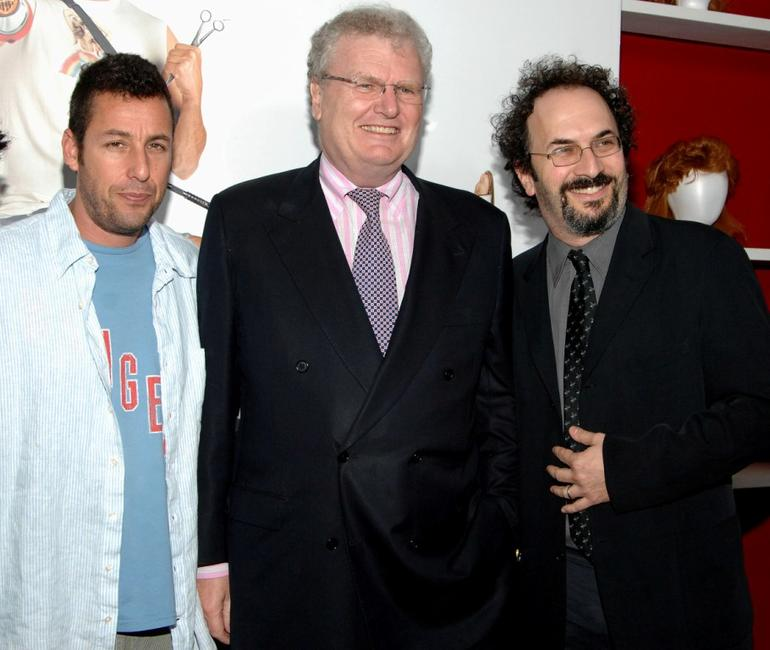 Adam Sandler, Howard Stringer and Robert Smigel at the screening of