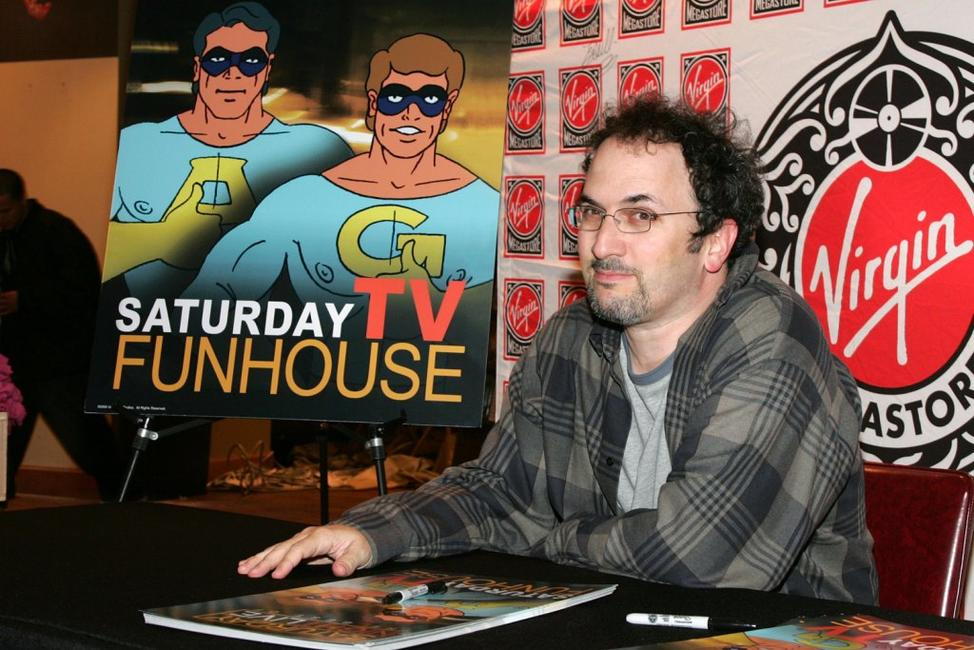 Robert Smigel at the signing of
