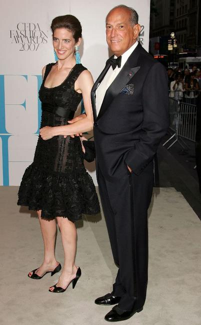 Oscar de la Renta and Guest at the 25th Anniversary of Annual CFDA Fashion Awards.