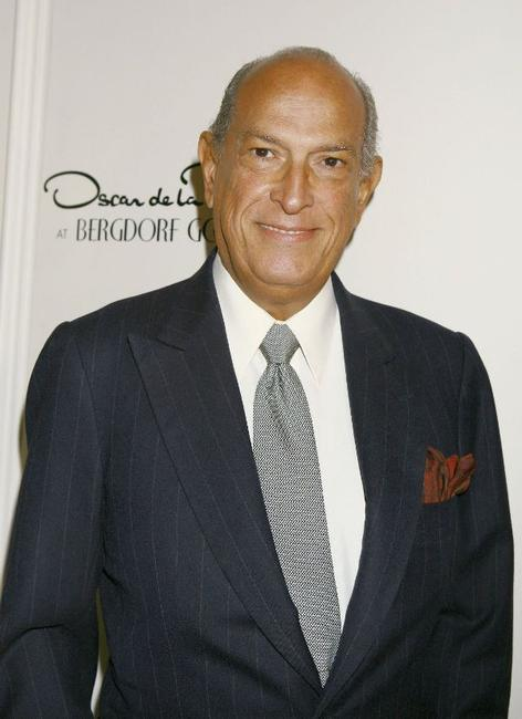 Oscar de la Renta at the celebration of Oscar de la Renta's 35th Anniversary.