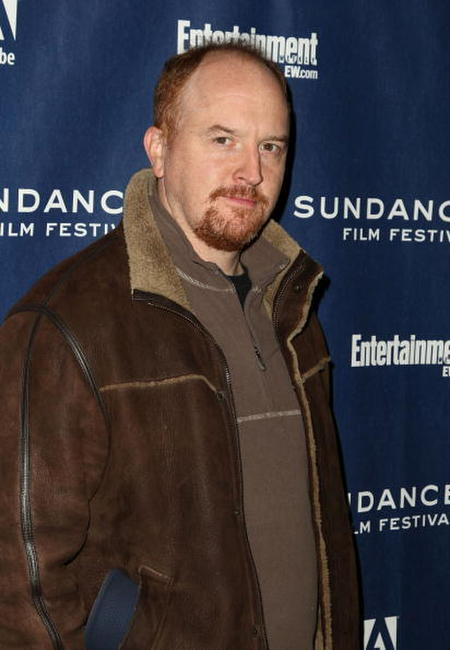 Louis C.K. at the premiere of