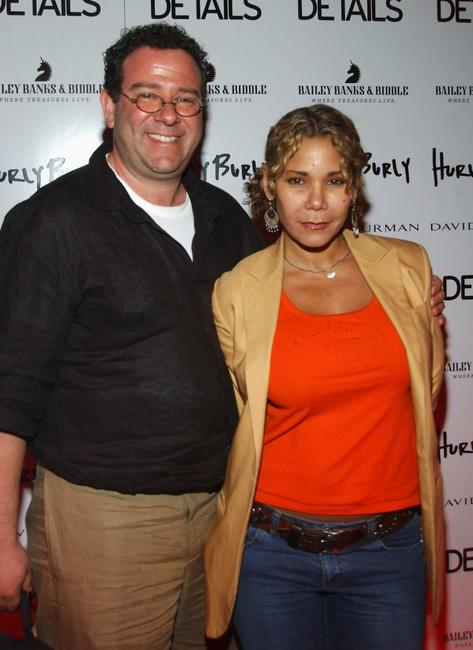 Daphne Rubin-Vega and guest at the after party of the opening night of