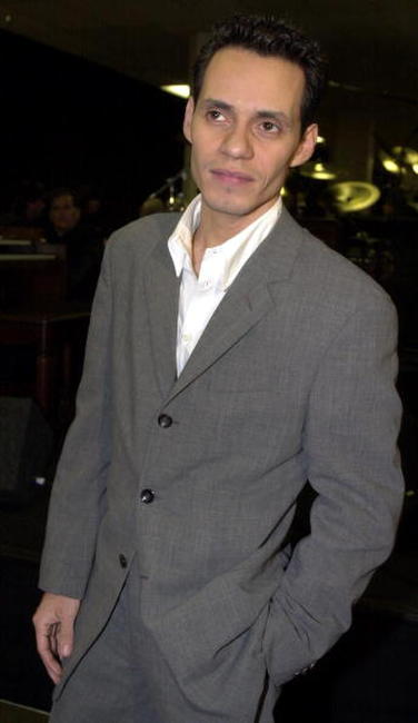 Marc Anthony at the 28th Annual American Music Awards in L.A.