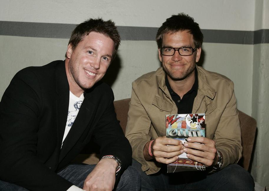 Lochlyn Munro and Michael Weatherly at the Music Video Production Association's 15th Annual MVPA Awards.