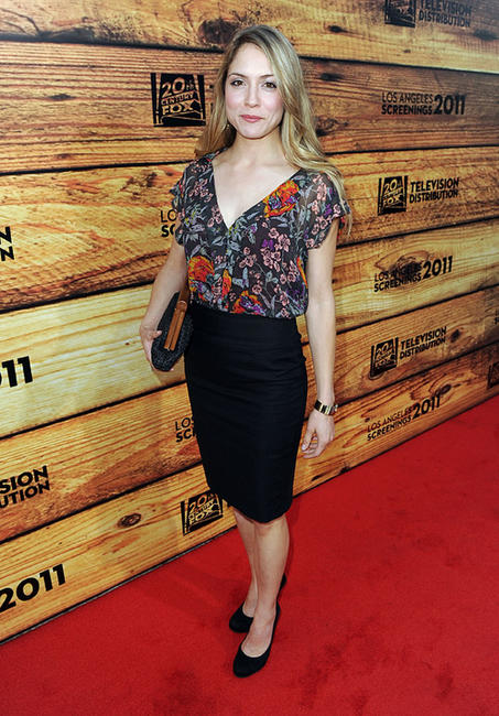 Brooke Nevin at the Twentieth Century Fox Television Distribution party in California.