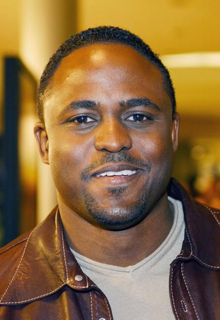 Wayne Brady at the premiere of
