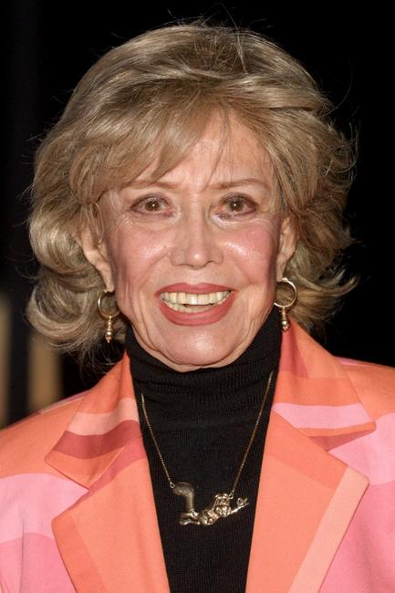 June Foray at the premiere screening of