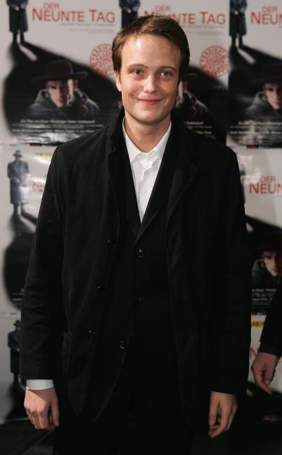 August Diehl at the world premiere of