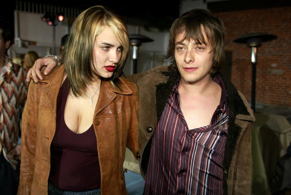 Edward Furlong and Liz Levy at the 5th Anniversary of Comedy Central's