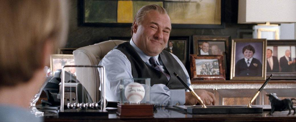 James Gandolfini as Doug Munny in