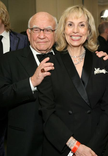 Ed Asner and wife Cindy Gilmore at the 17th Annual Night Of 100 Stars Oscar Gala.