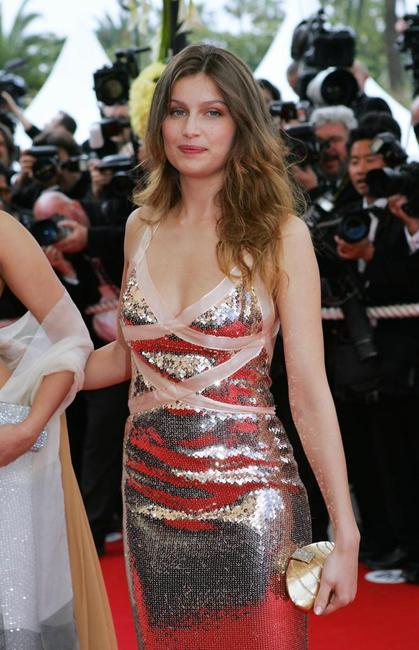 Laetitia Casta at the opening ceremony during the 57th Cannes International Film Festival.