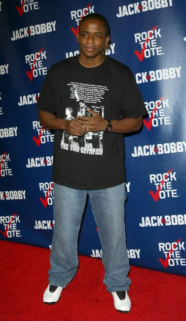 Dule Hill at the Rock The Vote event.