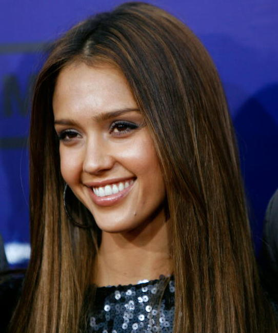 Jessica Alba at the 7th annual Taurus World Stunt Awards in L.A.